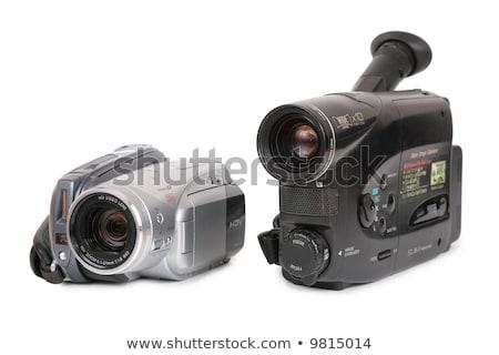 Analog wideo kamery film czarny cyfrowe Zdjęcia stock © Paha_L