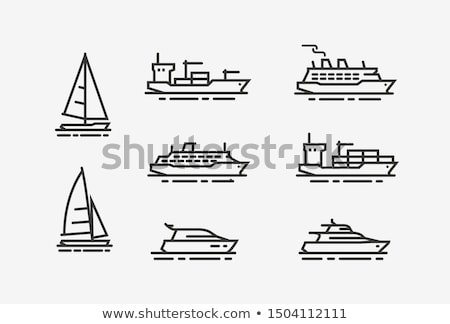 Sailboat Icon Stock photo © make