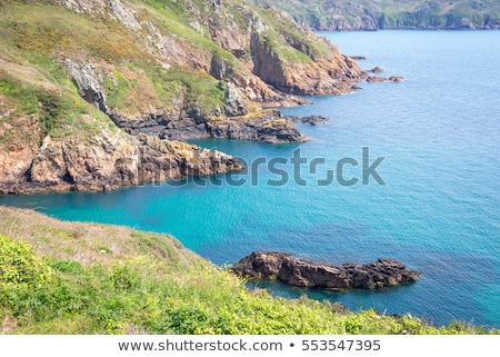 South coast of Guernsey island, UK, Europe Stock photo © haraldmuc