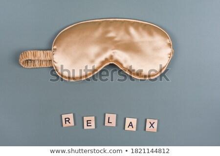 Clock and word Relax Stock photo © fuzzbones0