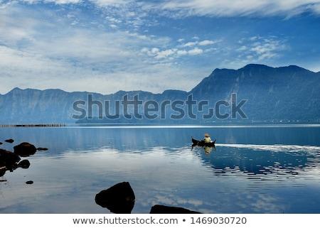 Maninjau Lake Indonesia stock photo © azamshah72