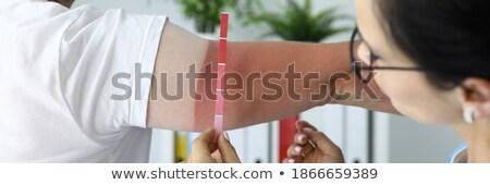 診断 医療 印刷 ぼやけた 文字 錠剤 ストックフォト © tashatuvango