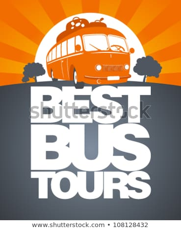 Bus tours banner Stock photo © Genestro