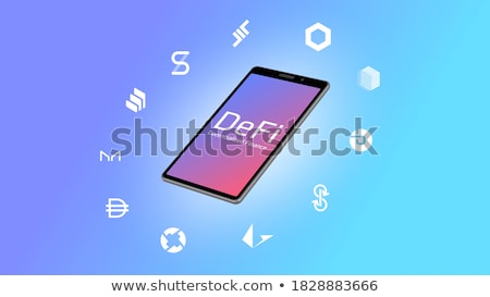 Smartphone with the text Blockchain on the display Stock photo © Zerbor
