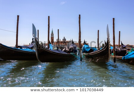 attached the gondolas close-up  Stock photo © OleksandrO