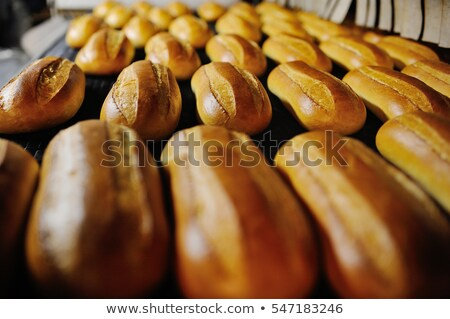Loafs of bread in the factory Stock photo © Enjoylife