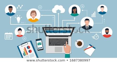 Business management concept Stock photo © Genestro
