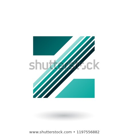 Verde diagonale vettore illustrazione Foto d'archivio © cidepix