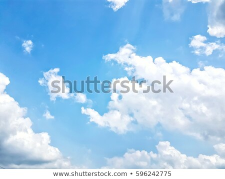 White cloud and bule sky Stock photo © nuttakit