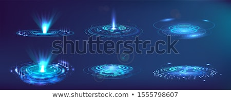 Abstract Hud UI Interface, Virtual Screen Futuristic Hi Tech Background Stock photo © smeagorl