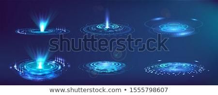 abstrato · radar · terra · mapa · computador · mundo - foto stock © smeagorl