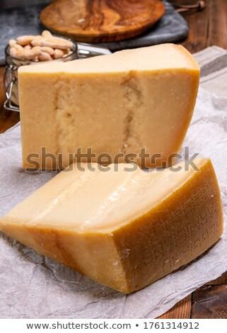 パルメザンチーズ 本物の チーズ ナイフ 食品 ストックフォト © grafvision