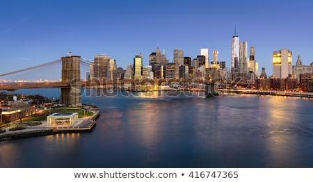 表示 · 橋 · 川 · ニューヨーク · 景観 - ストックフォト © andreypopov