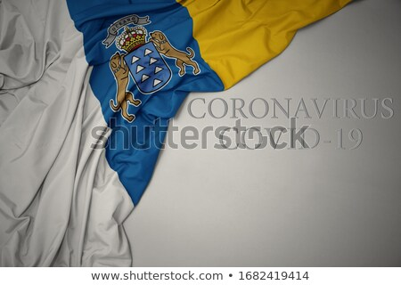 Canary Islands flag Stock photo © grafvision