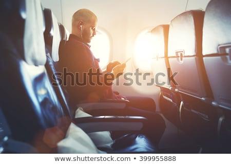 Affaires entrepreneurs communication planification vecteur internet Photo stock © robuart