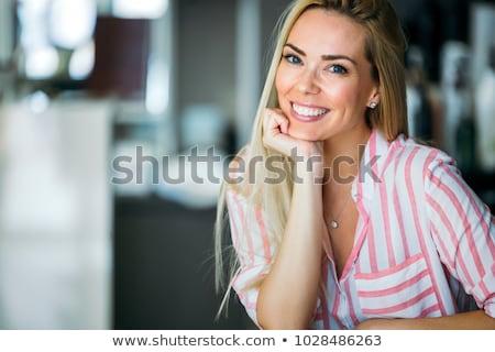 gesunde · Ernährung · Essen · Porträt · schönen · glücklich - stock foto © serdechny