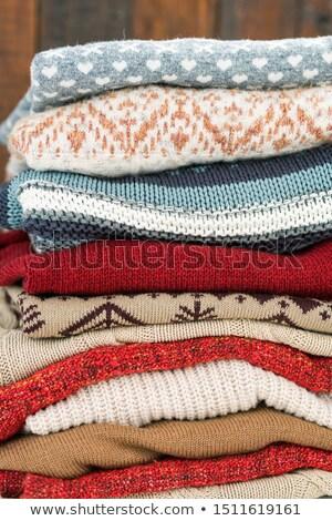 Tricotado cores pronto outono Foto stock © pressmaster