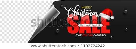 Navidad especial descuento ofrecer venta regalos Foto stock © robuart