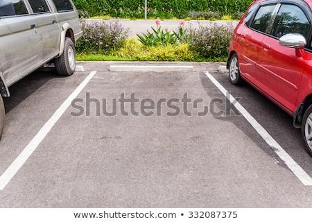 空っぽ 駐車場 3次元の図 トラフィック 行 ストックフォト © magraphics