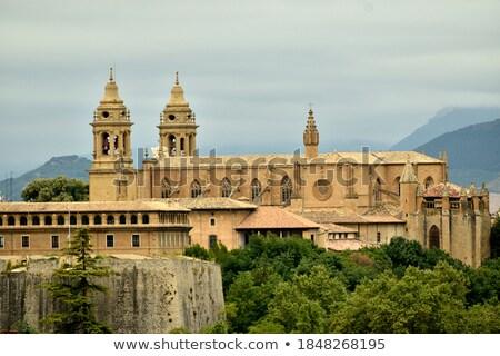 Katedrális Spanyolország mikulás LA igazi római Stock fotó © borisb17