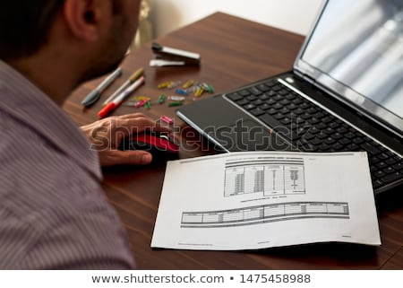 Computer printout Stock photo © claudiodivizia