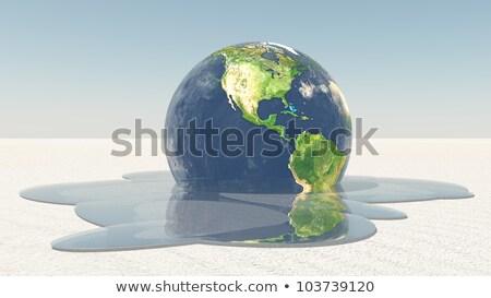 global warming 3 stock photo © morrbyte