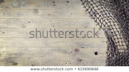 Background of fishing nets Stock photo © Musat