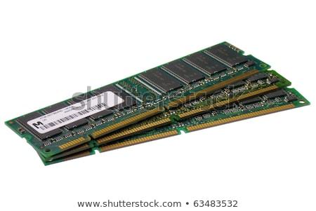 three stacked memory modules stock photo © gewoldi
