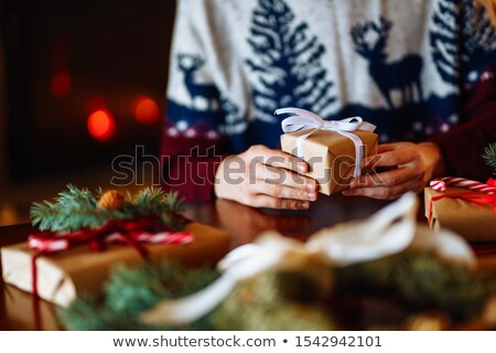 Young man in red sweater goes stock photo © Paha_L