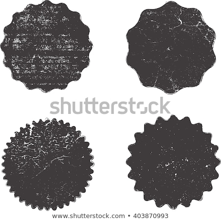 set of grunge sale labels badges and stickers stock photo © orson