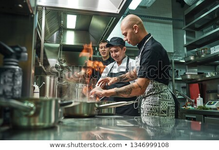 young cooker Stock photo © Galyna