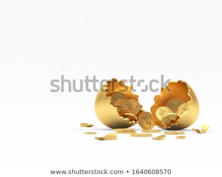 defekt · Münzen · isoliert · weiß · Business · Geld - stock foto © williv