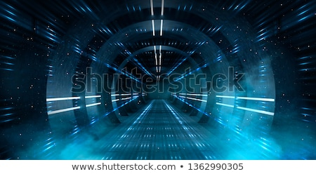Abstract tunnel, perspective view   Stock photo © Artida