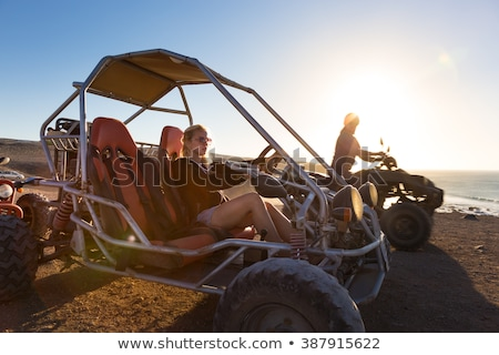buggy driving scenery Stock photo © prill