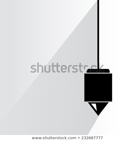 Builder with a plumb line Stock photo © photography33