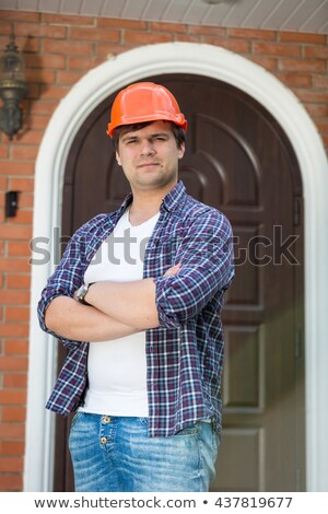 young electrician posing Stock photo © photography33
