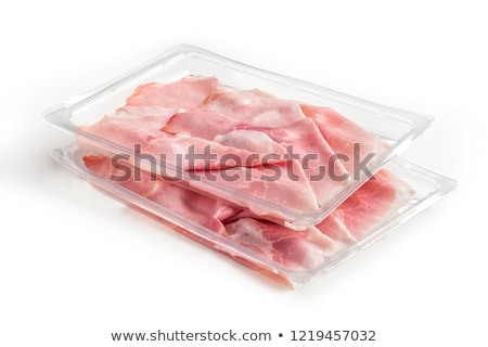sliced meat packaged Stock photo © shutswis