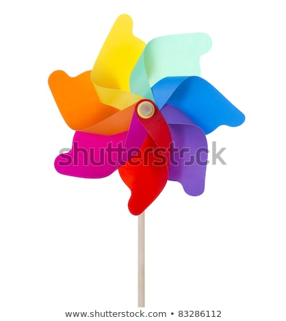 multi-colored toy spinning wheel Stock photo © morrbyte