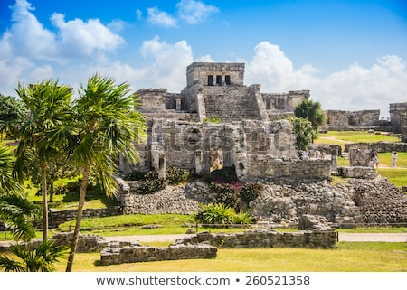 Mayan ruins of Tulum Mexico Stock photo © sumners