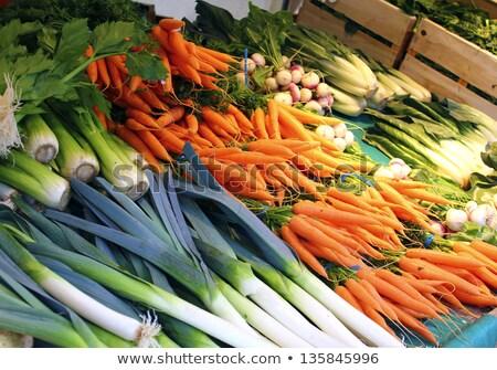 Greengrocer in Paris Stock photo © jakatics
