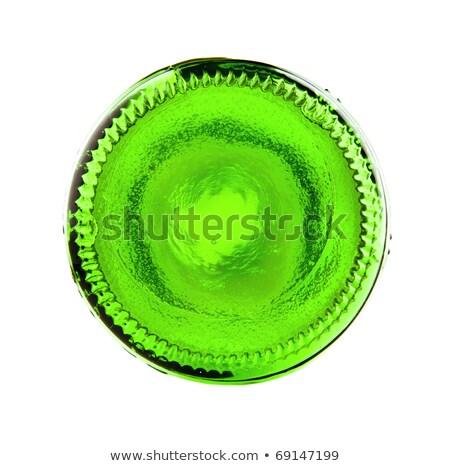 Yeşil şişe görmek bira şişeler arka plan Stok fotoğraf © toaster