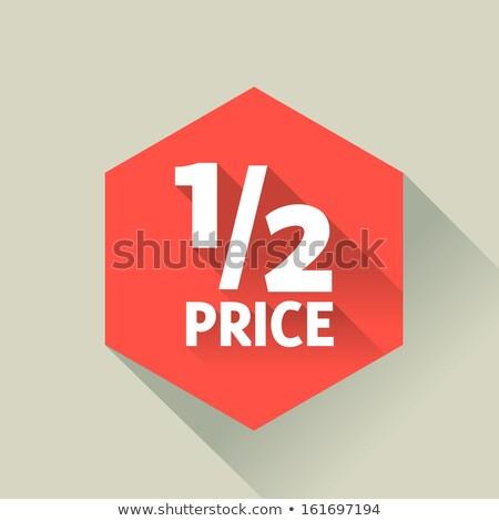 forró · ár · költség · becslés · értékelés · gyakoriság - stock fotó © marinini