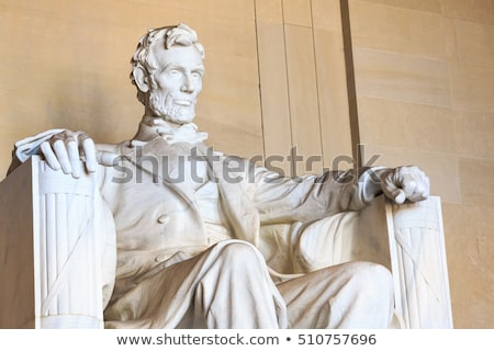 Stock photo: Statue of Abe Lincoln