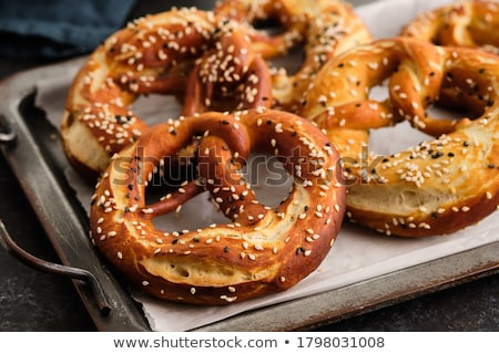 Wheat pretzels Stock photo © moses