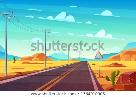 Stone Desert Pillars Stock photo © jkraft5