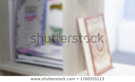 infront of the holy cabinet stock photo © eldadcarin