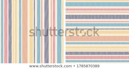 Stock photo: Cloth stripes