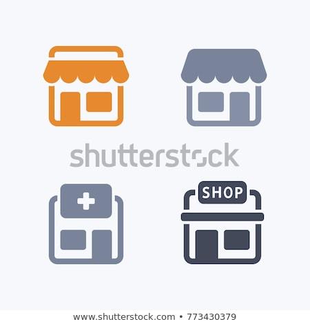 drugstore icons Stock photo © glorcza