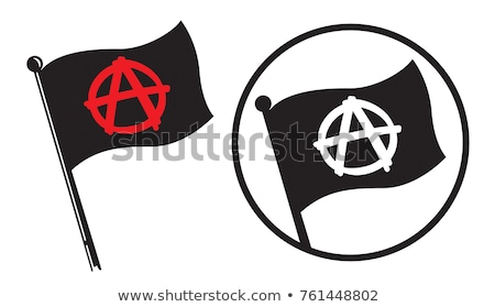Anarchy flag Stock photo © daboost