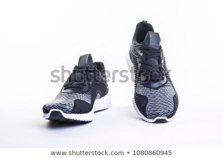 クローズアップ · キャンバス · 靴 · ファッション · デザイン · スタジオ - ストックフォト © nito